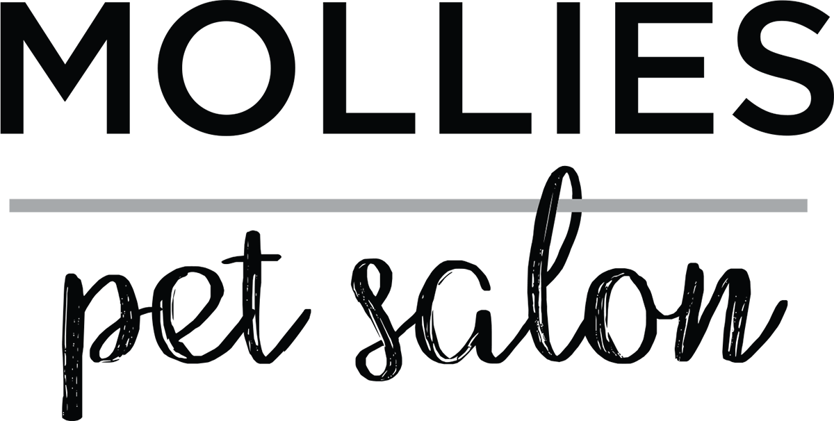 Mollies Pet Salon - Mollies is a boutique pet salon based in Bayswater on Auckland's North Shore - logo