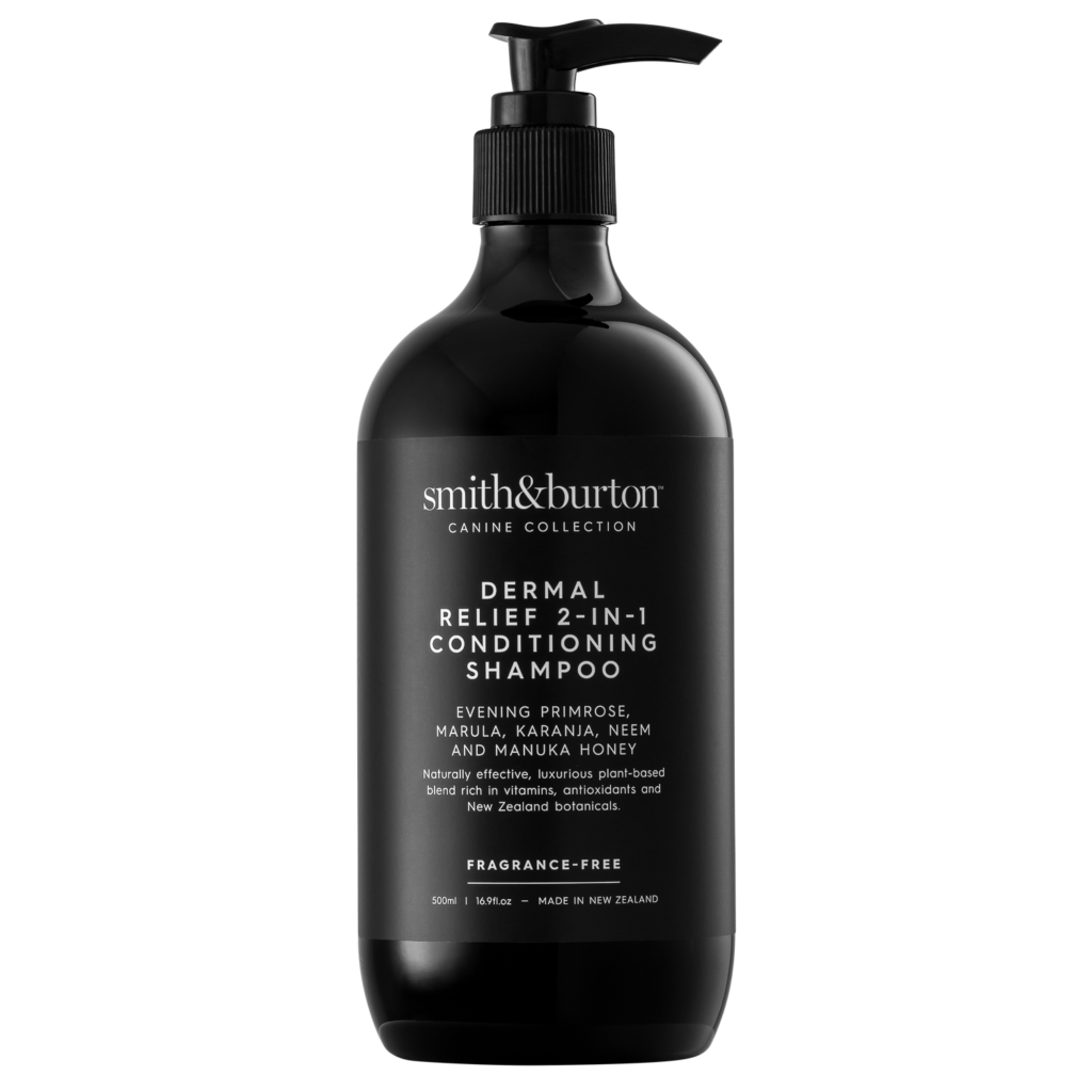 Dermal Relief 2-in-1 Conditioning Shampoo from Mollies Pet Grooming Products Shop