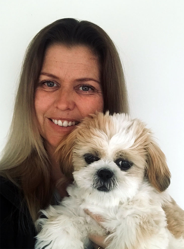Rebecca Danks - Owner of Mollies boutique pet salon in Bayswater on Auckland's North Shore